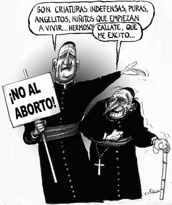 El no al aborto de los padrecitos perversos