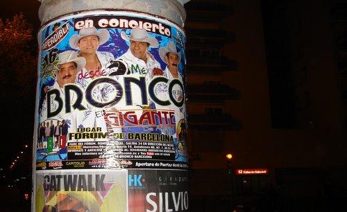 Bronco en Barcelona